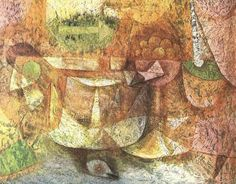Paul Klee, Still Life with Dove, 1931 #expressionism