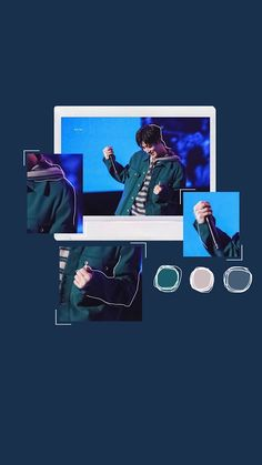Kim Hanbin Ikon, Chanwoo Ikon, Ikon Leader, Ikon Wallpaper, Best Kpop, Blue Aesthetic, Rap Monster, Yg Entertainment, Backgrounds