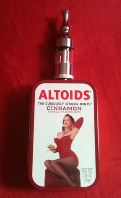 Altoids Limited Edition Vape Mod by VonKhoe. #ecigguide
