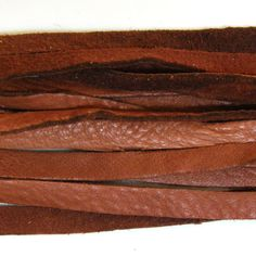 10 Pieces Deerhide USA LEATHER 3 Feet 1/8 Inch by RobertJennik