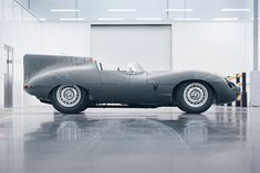 British motor company Jaguar has announced that it will restart production of the D-type racing car for the first time in over 60 years.