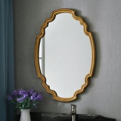 Home decor tips are readily available on our website. Check it out and you wont be sorry you did. Mirror Decor Living Room, Painted Interior Doors, Long Walls, Contemporary Wall Mirrors, Cool Mirrors, Beveled Glass, Creative Decor, Home Look, Plates On Wall