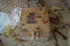 """""""Возвращение в детство""""-Короб - короб для хранения,короб для кухни,коробка для мелочей"""
