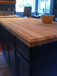 Our butcher block is here!