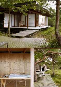 Swedish photographer patric johansson / the green life japanese house, platform deck, Japanese Architecture, Modern Architecture, Cultural Architecture, Future House, My House, Japanese House, Japanese Style, Modernism, Interior And Exterior