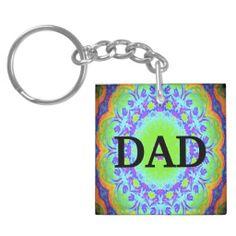Dad keychain
