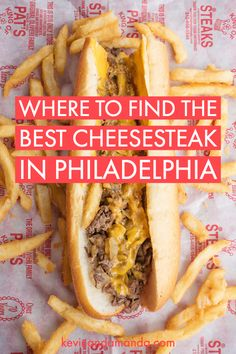 The absolute BEST places to eat in Philadelphia! This list will make sure every meal in Philadelphia is a home run! #philadelphia #restaurants #breakfast #brunch #lunch #dinner #philly #cheesesteak #bagel #thingstodo #travel