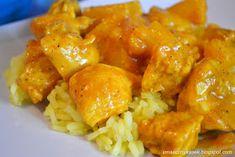 Kurczak curry Polish Recipes, Polish Food, Curry, Pork, Meat, Chicken, Cooking, Ethnic Recipes, Dinner Ideas