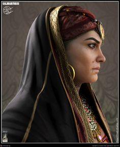 Bogayre, an Arabian princess by Hossein Diba | 3D | CGSociety