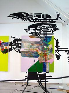 Nick Lamia Artist Splice - The Center for Maine Contemporary Art - site specific installation, mixed media - 2006