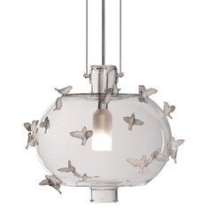 Freeze frame birds hanging lamp - ce - Lladro - Lladro - RoyalDesign.co.uk
