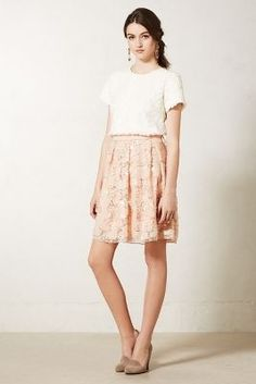 Pink party skirt