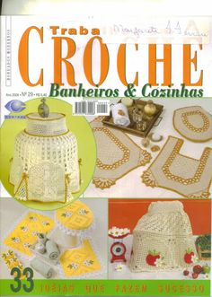 TRABALHOS -CROCHE -BANHEIROS E COZINHAS 29 - Zuleika Sousa - Album Web Picasa