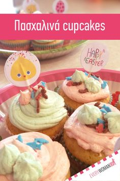Brunch, Cupcakes, Easter, Breakfast, Desserts, Food, Morning Coffee, Tailgate Desserts, Cupcake Cakes