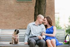 dogs of pinterest - engagement shoot with pug - elite phoot