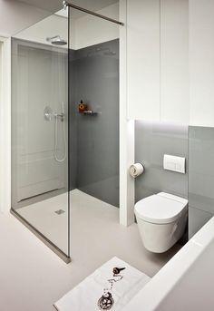 szara łazienka zdjęcia
