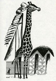 Dikkertje Dap van Annie MG Schmidt, illustratie Fiep Westendorp.    I LOVE Giraffes <3