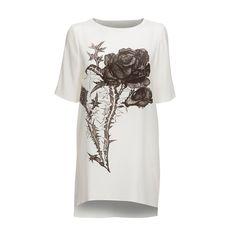 Love Silk T-Shirt Dress | Mairi McDonald | Wolf & Badger