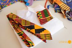 "Ghanaian Brand UTAMA Presents ""Y3 SORONKO"" Collection – Handmade African Print Accessories For Men 