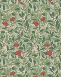 Arbutus Thyme/Coral från William Morris & Co