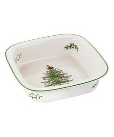 Another great find on #zulily! Christmas Tree Oven-to-Table Square Baking Dish #zulilyfinds