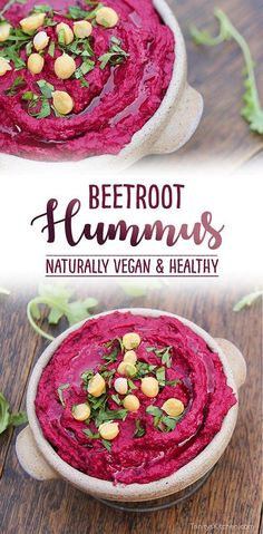 Beetroot hummus by Trinity - Beets - gluten-free vegan dip for salads, falafel and pitta bread.