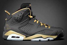 """Jordan 6 """"OVO"""" Drake's"""