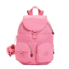 Firefly Backpack - Pink Macaroons | Kipling Ideal for day trips and weekend excursions with multiple hideaways to tuck away all of your essentials.