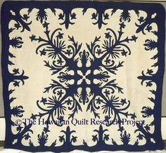 pretty Hawaiian Quilt