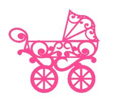 Pram vinyl sticker for nursery s diy projects
