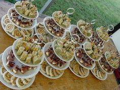 Hapjes #snacks Tapas, Fingers Food, High Tea, Party Buffet, Party Snacks, Catering, Bakery, Brunch, Appetizers