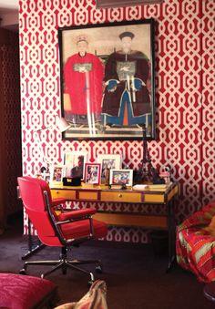 O apartamento de Murilo Lomas e Sig Bergamin em Paris