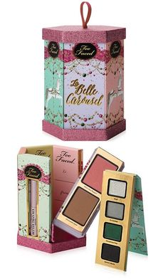 I mentioned earlier today that some of the Too Faced Holiday 2014 Collection is available at Macys.com! I didn't have a sec to go through the collection ea