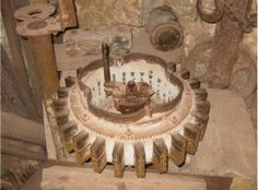 The Flywheel at Coral Castle