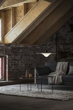 Tapio Anttila Collection – TREK pendant light, ON sofa bed, Mixrack table, Mixrack rack