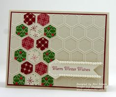 The Stampin' Schach: Honeycomb Country Christmas and Muffy's Puppy
