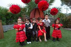 Flamenco Dancer Themed Party via Kara's Party Ideas