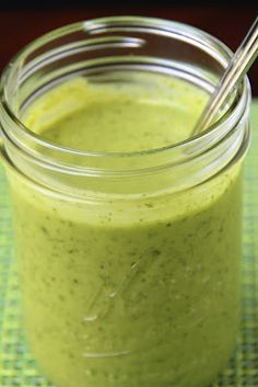 Avocado-Basil Vinaigrette