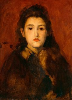 Portrait of Alice Butt, 1895 - James McNeill Whistler  at the National Gallery of Art, Washington DC