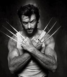 Wolverine Hugh Jackman. via: https://plus.google.com/100021025784352405813