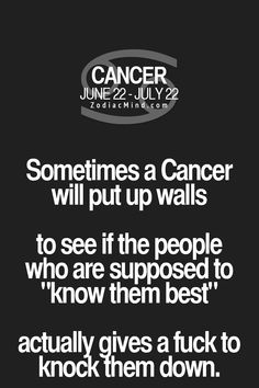 Zodiac mind - your source for zodiac facts cancer вдохновляющие цитаты, Horoscope Du Cancer, Cancer Zodiac Facts, Cancer Quotes, Gemini And Cancer, Cancer Zodiac Women, True Horoscope, Daily Horoscope, Scorpio, My Zodiac Sign