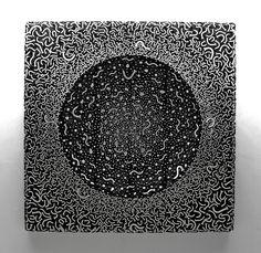 "Incredibly Beautiful Wood and Nail ""Paintings"" by Jae-Hyo Lee - via My Modern Metropolis"
