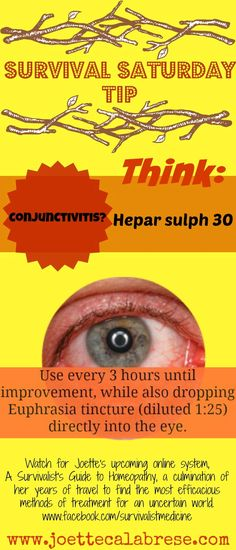 Conjunctivitis? Why you don't need to run to the doctor for this one.