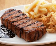 Feast your eyes on the Spur steak menu. Our legendary steaks are carefully aged, tender, tasty & chargrilled with our unique Spur basting. The way steak should be. Steak Menu, Beef Steak, Steaks, Char Grill, New York, Grilling, Tasty, Spur, Food