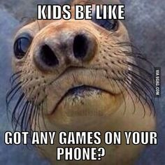 Every time my daughter sees someone with their phone out...