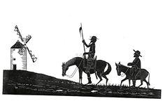 """""""Quixote morre no fim da narrativa, pois não se pode enlouquecer duas vezes"""" – disse Saramago sobre o cavaleiro em questão, em um discurso em que afirmou ser Quixote o personagem mais completo de toda a literatura."""""""