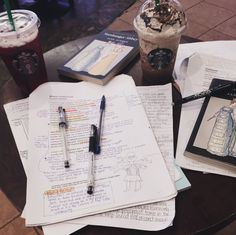 dxbstudy: 11:09am / starbucks again, this time to finish up english literature revision. the new iced berry tea is giving my life so much joy.