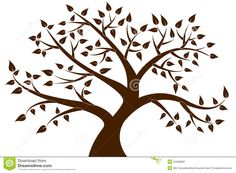 decorative-brown-tree-silhouette-your-design-colourfull-53226802.jpg (1300×957)