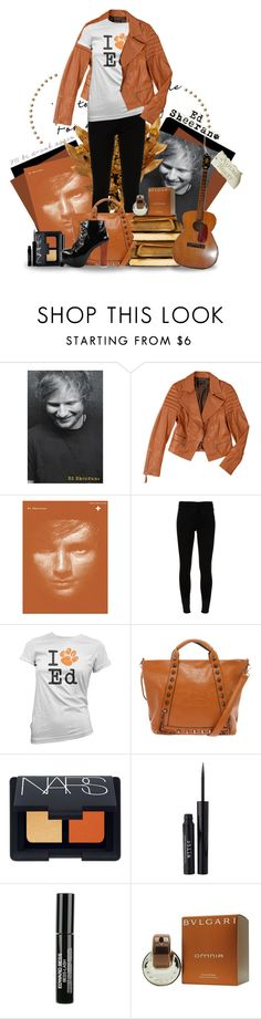 """Ed Sheeran."" by unitednarhwals ❤ liked on Polyvore featuring Baukjen, Theory, NARS Cosmetics, Stila, Edward Bess, Bulgari, Jeffrey Campbell, women's clothing, women and female"