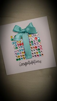 Hand made wedding congratulations card. www.facebook.com/ashleyolsencrafts